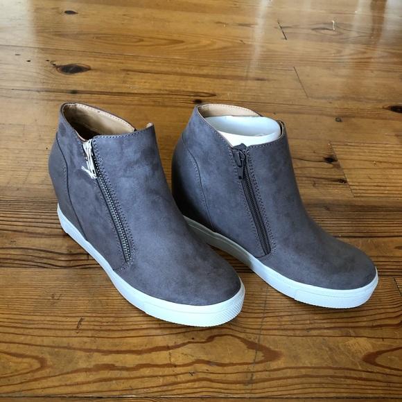 Brash Shoes | Cece Hidden Wedge Sneaker